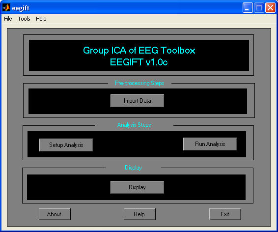 Group ICA of EEG Toolbox...