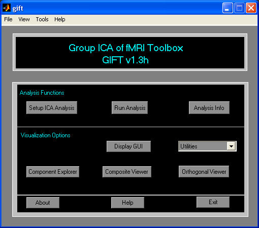 Group ICA of fMRI Toolbox...